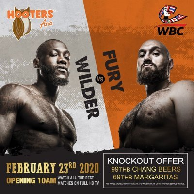 Fury VS Wilder At Hooters Samui