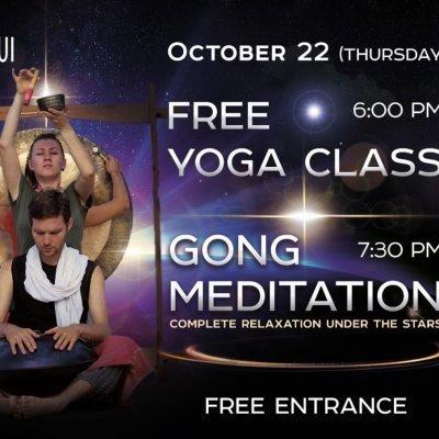 Free Yoga Class & Gong Meditation at Satva Samui Hotel