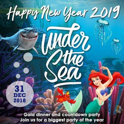Under The Sea New Year 's Eve Party