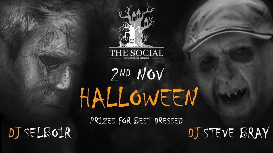 Halloween at The Social