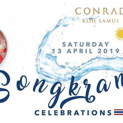 Songkran Celebrations at Conrad Koh Samui