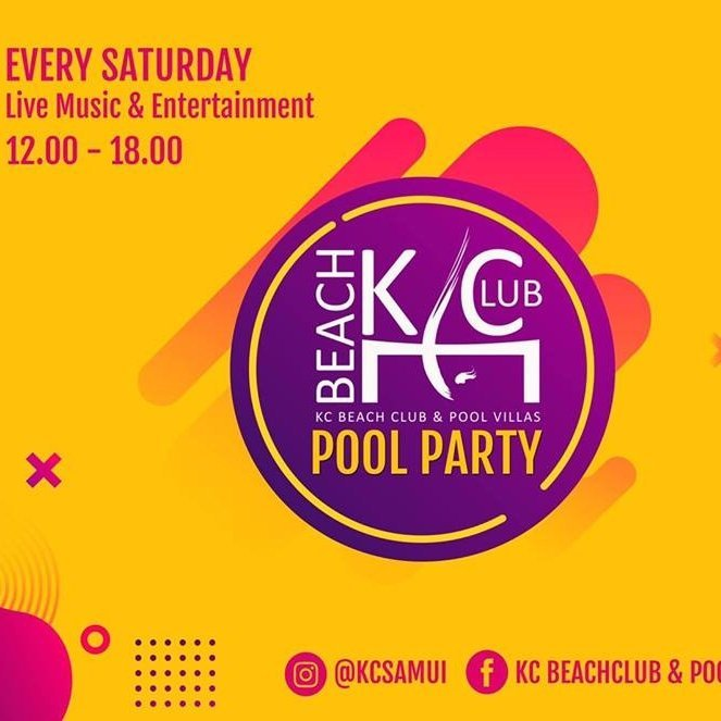 Every Saturday Pool Party