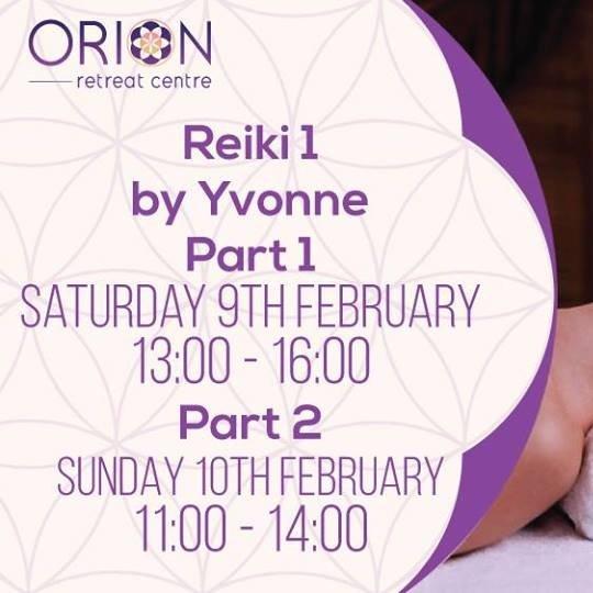 Reiki 1 by Yvonne