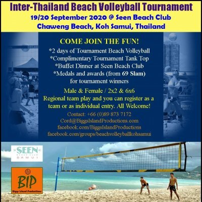 Inter-Thailand Beach Volleyball Tournament