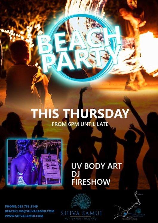 Thursday Beach Party
