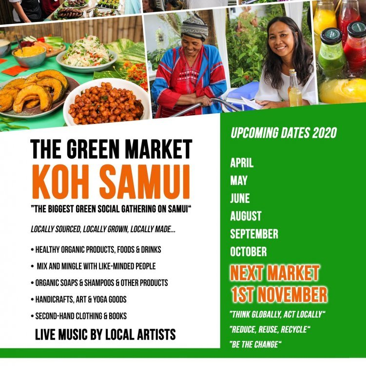 The Green Market Samui • 1st November 2020 • ตลาดสีเขียว