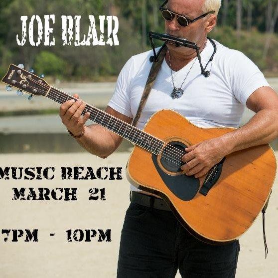Joe Blair live at Music Beach