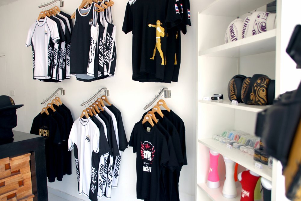 Fully stocked Muaythai shop