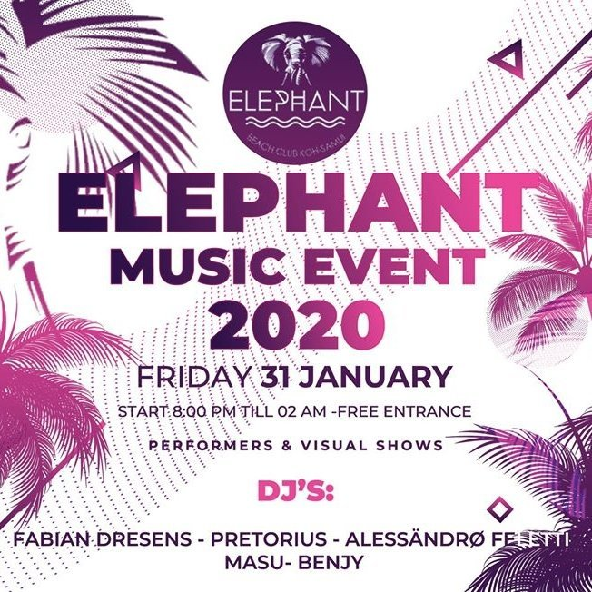 Elephant MUSIC EVENT 2020