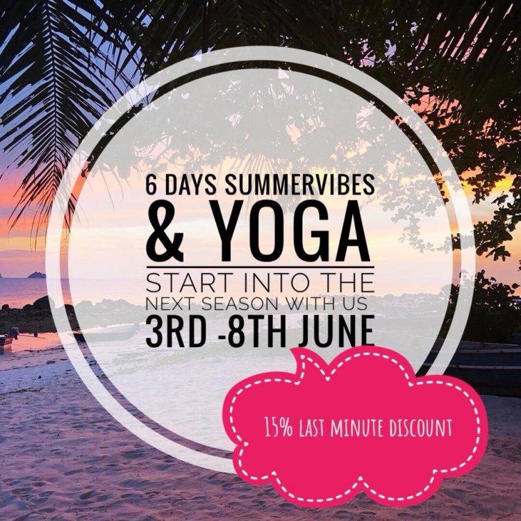 6 days Summer Vibes and Yoga on Ko Samui