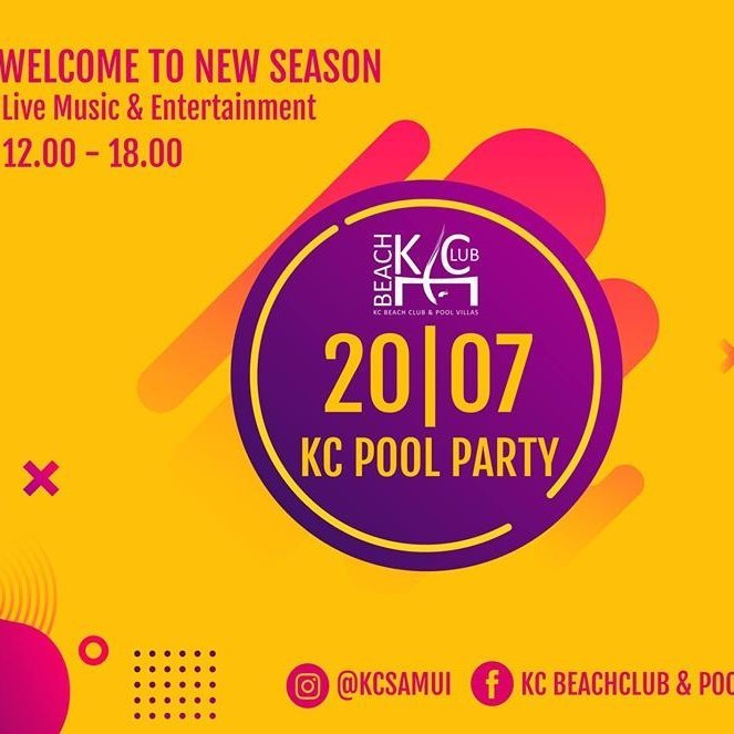 Welcome new Season Pool Party