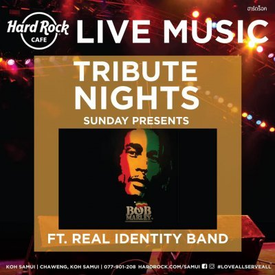 Bob Marley Tribute at Hard Rock Cafe