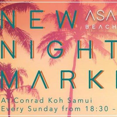 Asadong Beach Bazaar at Conrad Koh Samui.