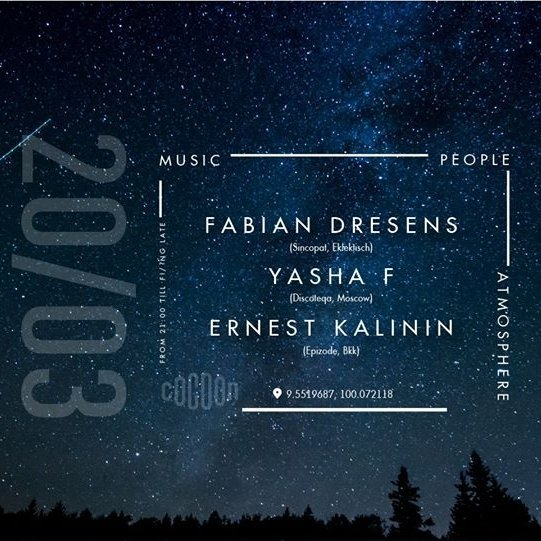 Fabian Dresens/Yasha F/Ernest Kalinin (private party)