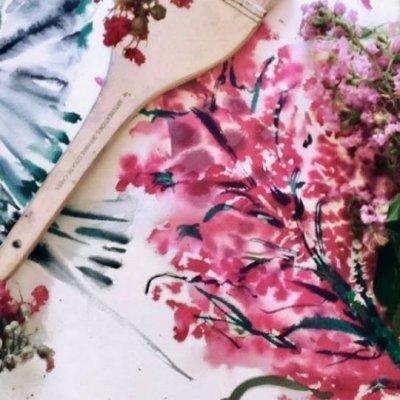 Floral Painting Meditation Workshop with Kris Keys