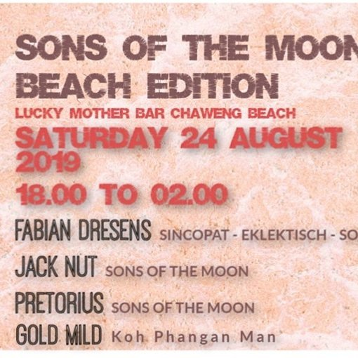 Sons of the Moon Beach Edition X Lucky Mother Bar