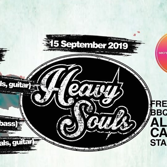 Secret Garden Sunday Sessions presents: Heavy Souls