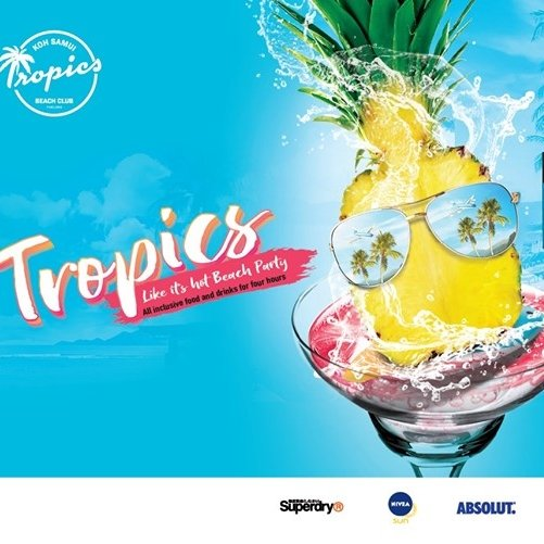 Tropics Like it's Hot Beach Party