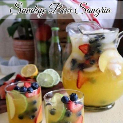 Sunday Beer Sangria