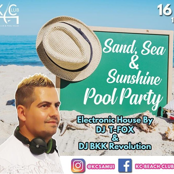 Sand Sea & Sun Pool Party