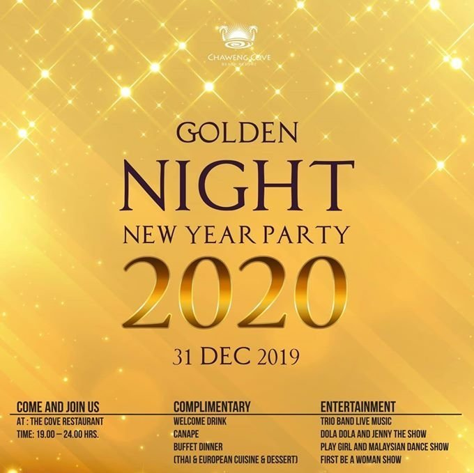 Golden Night New Year Party 2020