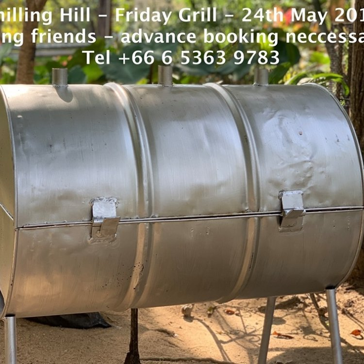 Chilling Hill - Friday Grill - Advance booking only