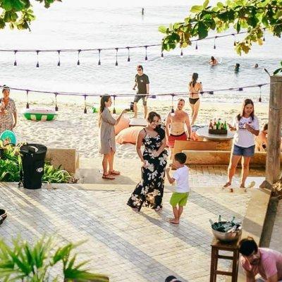 SongKran at Lipa Noi Beach