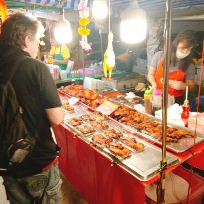 Night Market on Chaweng