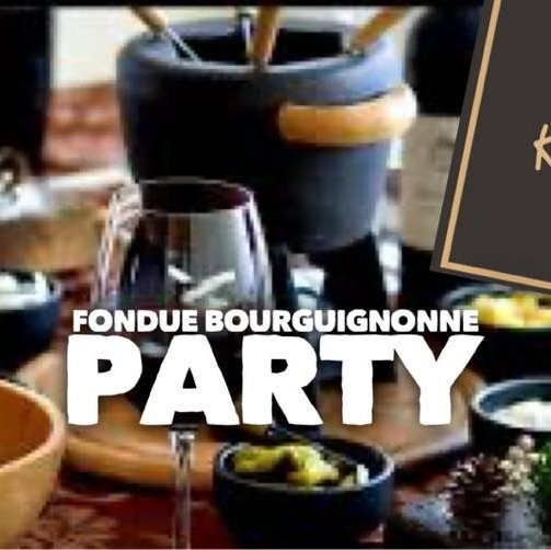 Fondue Bourguignonne Party