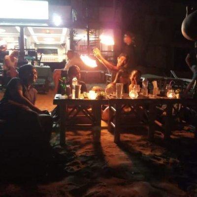 Alban Music Live & Fire Show _ LAMAI BEACH