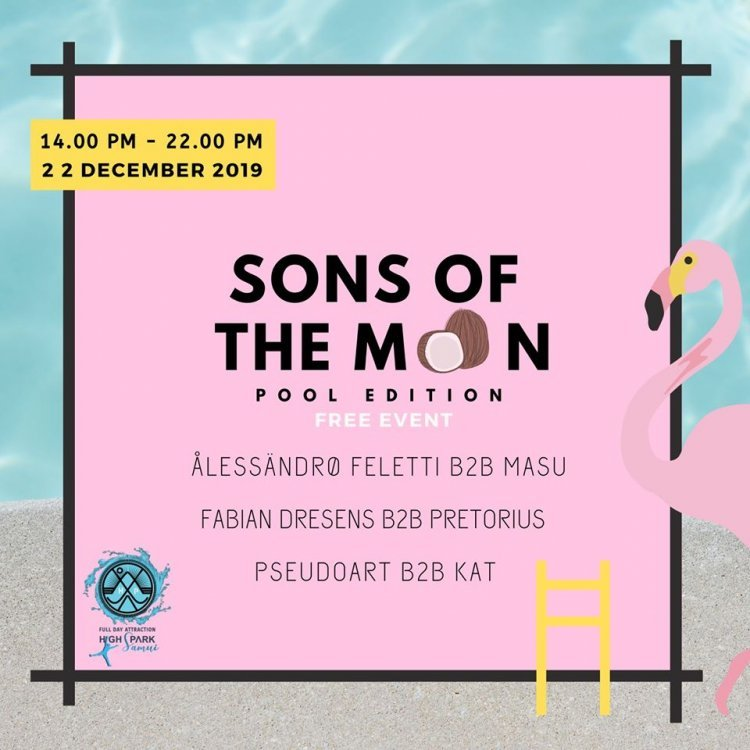 Sons Of The Moon Pool Edition