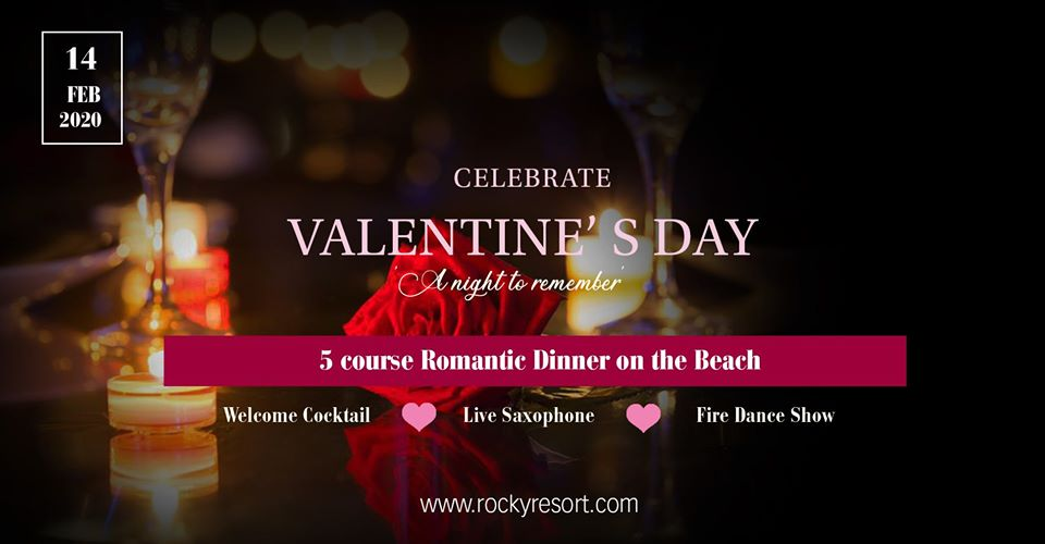 Valentine's Day Dinner on the Beach