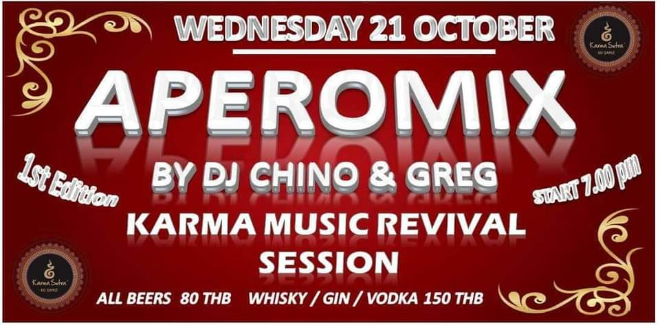 APEROMIX BY DJ CHINO & GREG