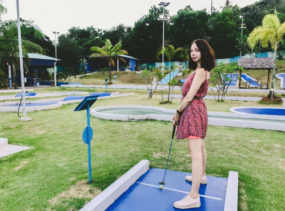 Minigolf for fun!