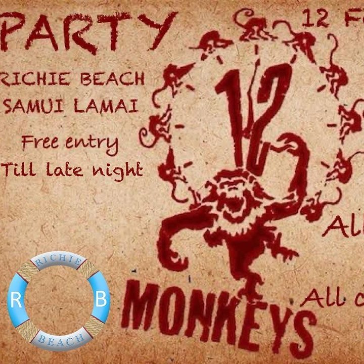 12 monkeys party