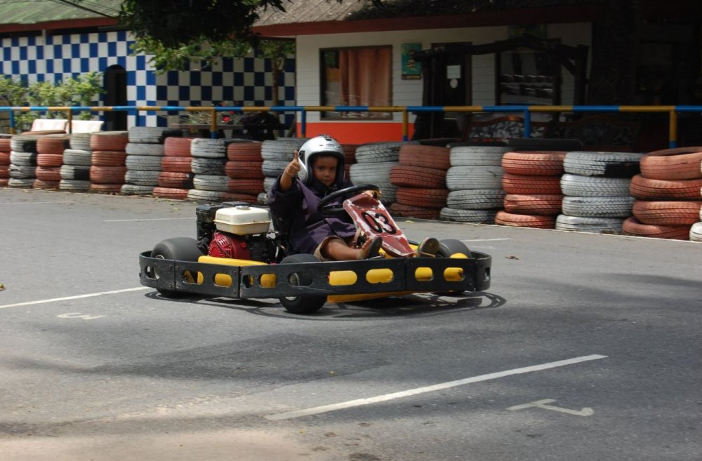 Let's go karting!