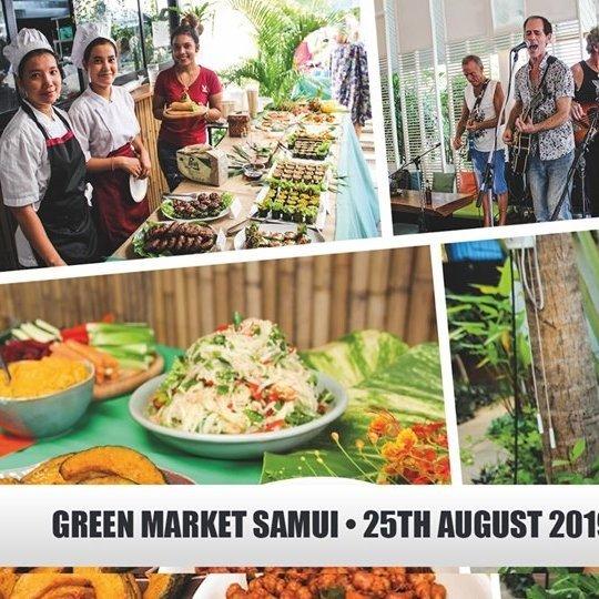 Next Green Market Samui - 25th August 2019