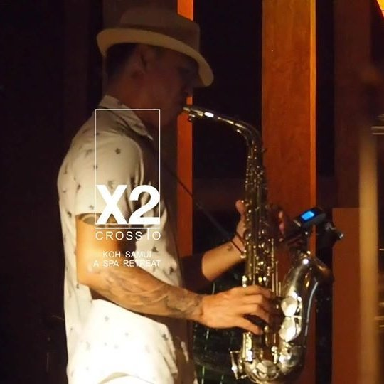 Jules King Saxophonist dinner!