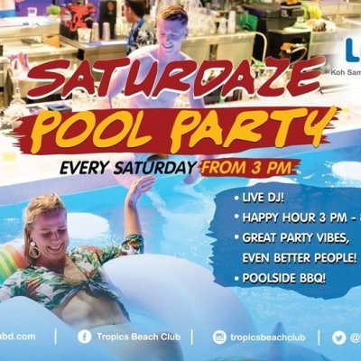 Saturdaze Pool Party