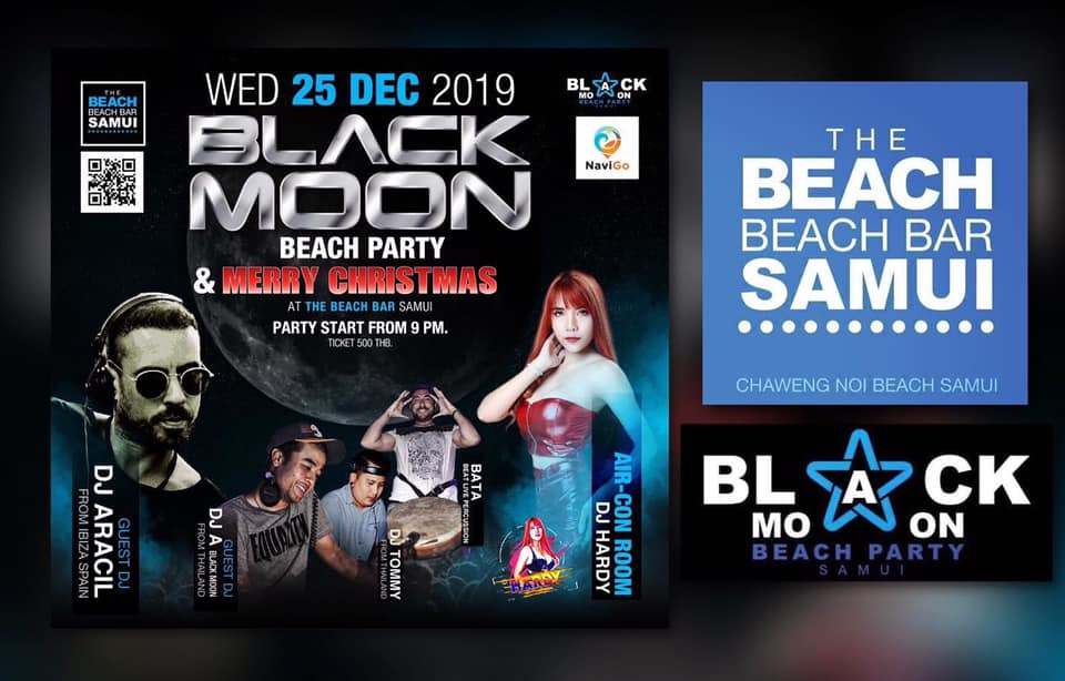 BLACK MOON BEACH PARTY&MERRY CHRISTMAS