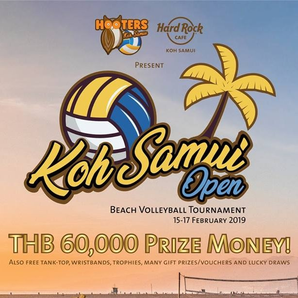 3rd Annual Koh Samui Open Beach Volleyball Tournament 2019