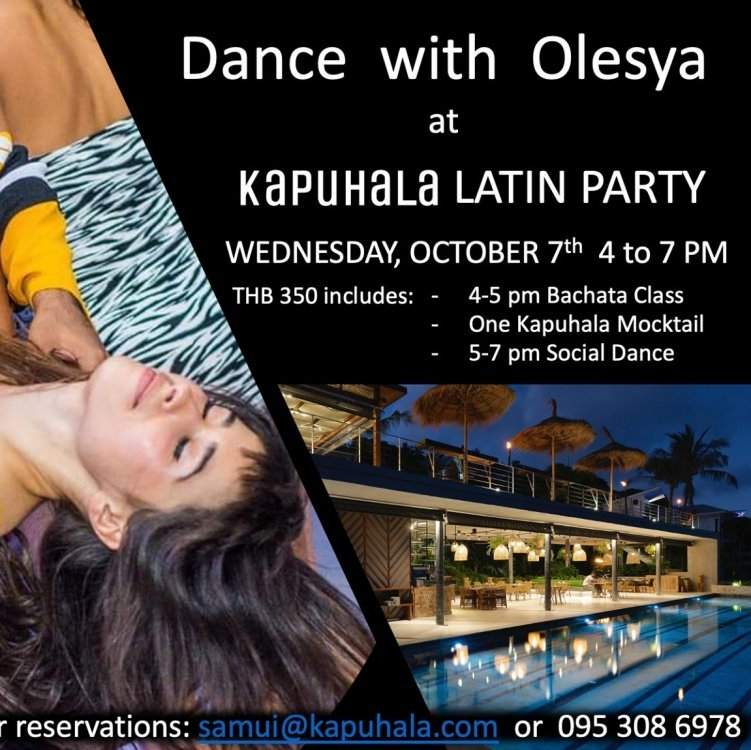 Latin Party at Kapuhala