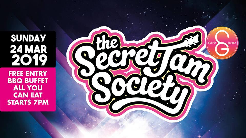 SG Sunday Sessions presents: The Secret Jam Society!