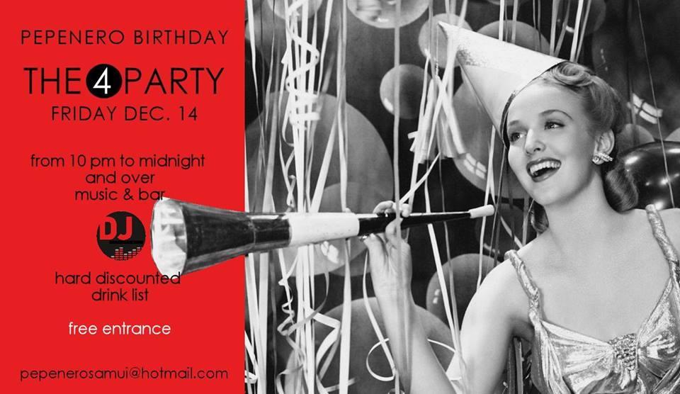 Pepenero Birthday Party