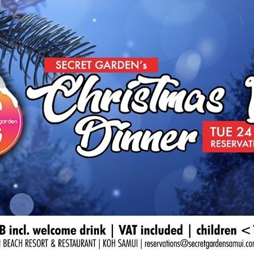Secret Garden's Christmas Eve Dinner 2019