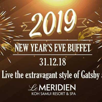 New Year's Eve 2019 Buffet, A Night of Gatsby!