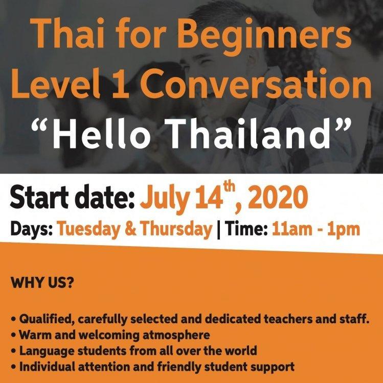 """Thai for Beginners """"HELLO THAILAND"""""""