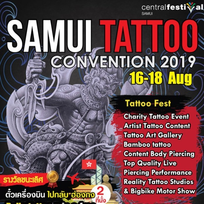 Samui Tattoo Convention 2019