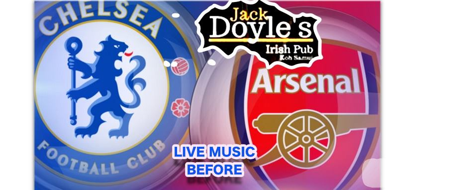 Chelsea V.S Arsenal and Live Music