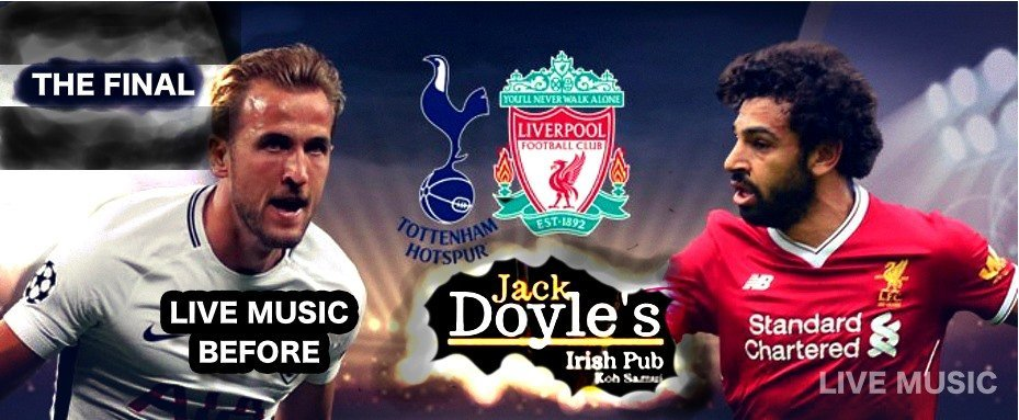 UEFA Champions League the FINAL And LIVE MUSIC